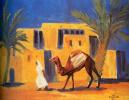 Бедуин с верблюдом. Феллахская деревня