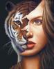 Girl tigress