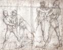 Four Nude figures