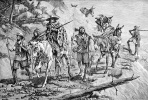 Фредерик Ремингтон. Индейцы конвоируют серебро в Мексике