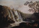 Вилла Мецената в Тиволи с водопадами