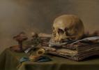 Питер Клас. Натюрморт с черепом (Ванитас)