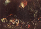 Ян Брейгель Старший. Искушение святого Антония