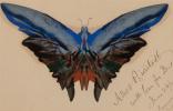 Альберт Бирштадт. Бабочка с синими крыльями