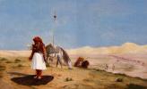 Жан-Леон Жером. Молитва в пустыне