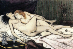 D après Le sommeil Courbet