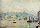 Альфред Сислей. Вид на Темзу: мост Чаринг-Кросс