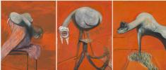 Три этюда к фигурам у подножия распятия