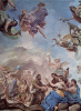 Frescoes in the gallery of the Palazzo Medici-Riccardi in Florence. Scene: the Creation of man