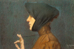 Дурмер Луциан Леви. Женщина с медальеном