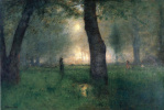George Inness. The Trout Brook