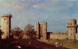 Джованни Антонио Каналь (Каналетто). Внутренний двор замка Уорвик