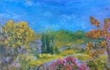 Рита Аркадьевна Бекман. Зима в Галилейских горах