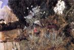 Джон Уильям Уотерхаус. Цветы волшебного сада. Эскиз