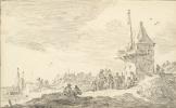 Ян ван Гойен. На морском берегу