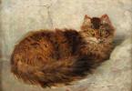 Генриетта Роннер-Книп. Кот