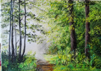Алина Евгеньевна Галкина. Солнце в лесу