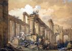 Шарль-Луи Клериссо. Руины храма Нептуна в Пестуме