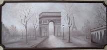 Триумфальная арка (роспись на стене)