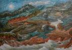 Владимир Иванович Осипов. В горах после ливня, 60-40, масло, 07.17г. ©