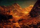 Освальд Ахенбах. Горный пейзаж