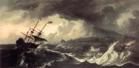 Псадка на мель во время шторма