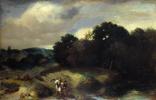 Ян Ливенс. Пейзаж с Тобиасом и ангелом