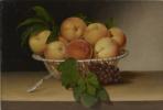 Натюрморт: Корзина персиков