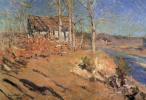 Константин Алексеевич Коровин. Осенний пейзаж