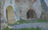 Eugene Butch. Svyato-Nikolsky gates.Solovetsky monastery