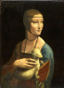 Lady with an ermine. Cecilia (Cecilia) Gallerani