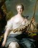 Жанна-Антуанетта Пуассон, маркиза де Помпадур в образе Дианы-Охотницы
