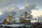 Attack of the Dutch fleet in of Lviv