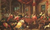 Якопо да Понте Бассано. Очищение Храма