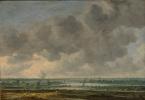 Ян ван Гойен. Вид на залив Харлем