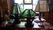 Table lamp Emerald tree
