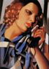 Женщина с телефонной трубкой