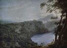 Вид на озеро Неми