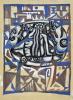 Эскиз к монументальной работе «Девушка с птицами»