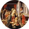 Мадонна с Младенцем и сцены из жития святой Анны (Мадонна Бартолини)