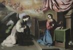 Francisco de Zurbaran. The Annunciation
