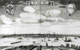 Венцель Холлар. Кельн — панорама города
