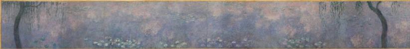 Клод Моне. Водяные лилии: две ивы