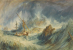Joseph Mallord William Turner. Storm (Shipwreck)