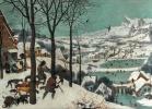 """Охотники на снегу. Цикл """"Времена года"""", январь"""