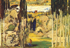 Lev Samoilovich Bakst (Leon Bakst). A sketch of the scenery for the ballet Daphnis and Chloe