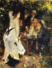 In the Garden. Under the Trees of Moulin de la Galette