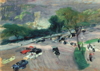 Joaquín Sorolla. The entrance of Central Park