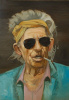 """A Portrait Of """"Keith Richards"""""""