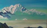 Гора пяти сокровищ (копия Рериха)